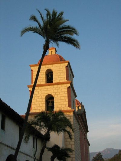 "The image ""http://www.davestravelcorner.com/articles/santabarbara/Santa-Barbara-Mission-Belltower.jpg"" cannot be displayed, because it contains errors."