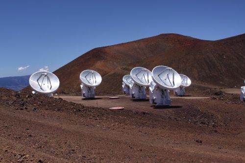 Radio Telescopes, Mauna Kea