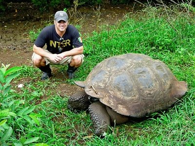 Lee on Galapogos