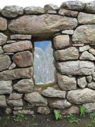 Wall at Machu Picchu