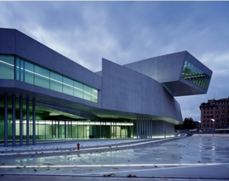 Modern Day Architecture contemporary art in rome - the maxxi