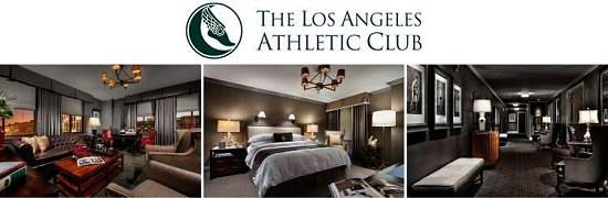 The Hotel At The Los Angeles Athletic Club Spins You Right