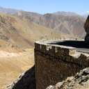 Hewn right into the mountainside, the Salang Pass Highway snakes its way north toward the Tajikistan border