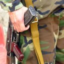 A Russian or Chinese made AK47 is among the millions still in use in Afghanistan