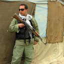 Private mercenaries like this one can still be hired as body guard or other purposes