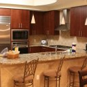 Kitchen of condo in Turquoise Place, Gulf Shores