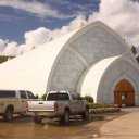 The ice hotel at Chena Hot Springs