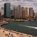 Harbor front near the Sydney Opera House