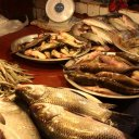 Fish in Gulshan 2 circle market, Dhaka