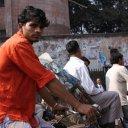 Rickshaw driver, Dhaka