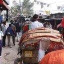 Rickshaw alley, Dhaka