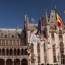 Amazing architecture - on the main square in Bruges