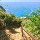 Hiking in Riomaggiore of Cinque Terre, Italy