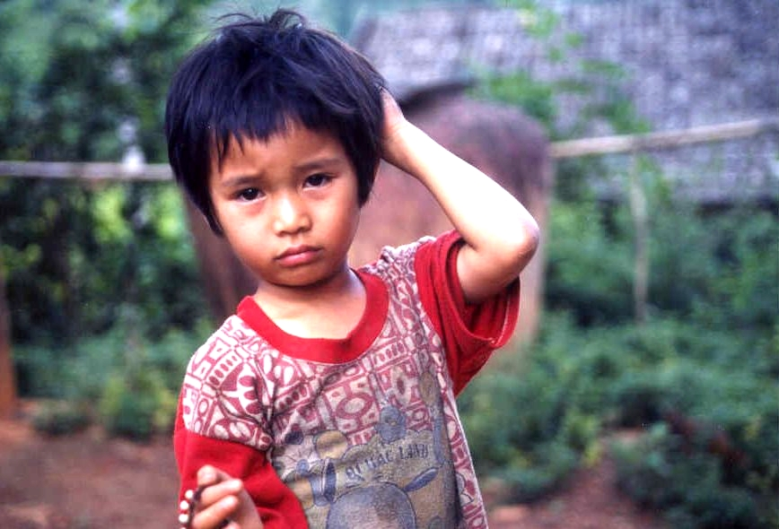 Child near Chiang Mai Thailand