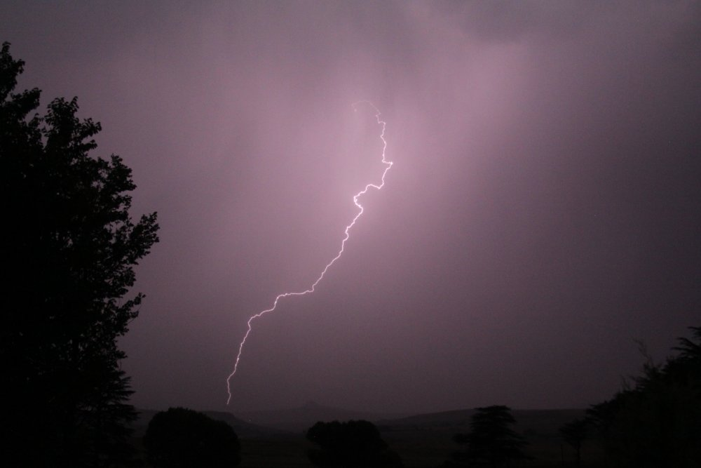 Lighting in Freestate, South Africa