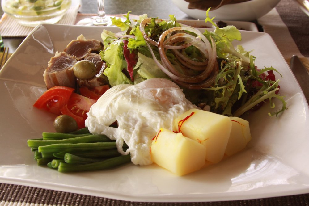 Nicoise Salad, Zitahli Resort Maldives