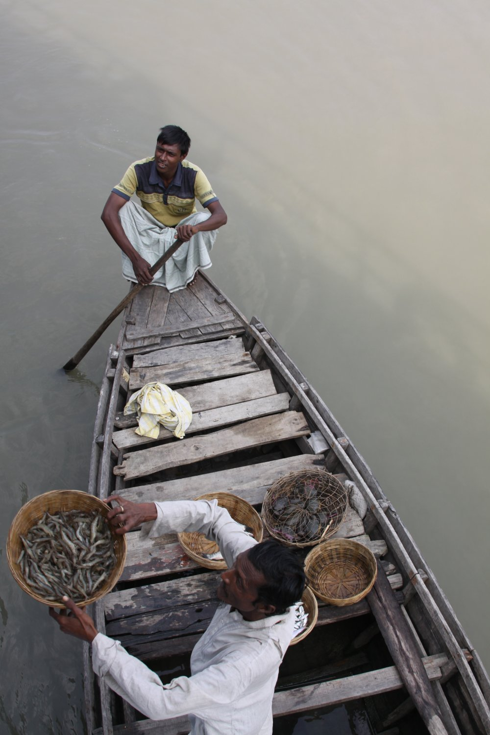 Fisherman in the Sundarbarans Bangladesh