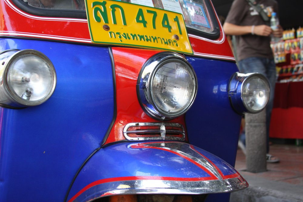 Tuk Tuk on streets of Bangkok