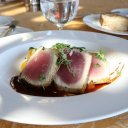 Tasty tuna, Auberge du Soleil, Napa Valley