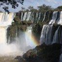 The great Iguazu Falls, Brazil