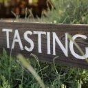 Tastings sign, Neyers Vineyard, Napa Valley
