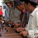 Musicians in Siguatepeque Honduras