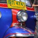 Tuk Tuk on streets of Bangkok