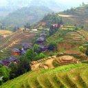 Longsheng rice terraced steps, Guilin