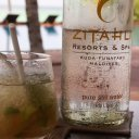 Zitahli Resort refreshments, poolside, Private Island Maldives