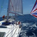 I sailed for 24days from Mexico to the South Pacific
