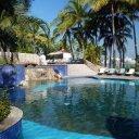 Barra De Navidad, Mexico - working poolside