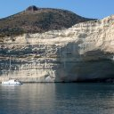 Sailing in Milos Greece