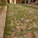 Centuries old cobblestone streets can still be found in Boston's Beacon Hill