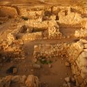 These ruins are all that's left of Khor Rouri, one of the most important trading centers of the world during Roman times. It was a major trading post for the aromatic frankincense, a coveted spice during ancient times