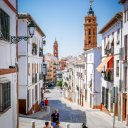 Streets of Antequera, Spain