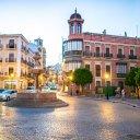 San Sebastian Square, Antequera, Spain