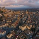 Ragusa Sicily from the Air