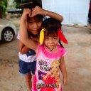 Children, Village Eastern Thailand