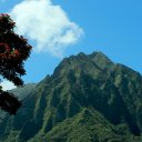 Oahu mountains, Hawaii