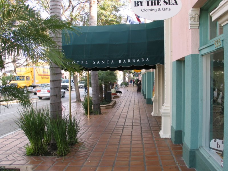 Hotel Santa Barbara This Is Centrally Located On Lower State Street Several Blocks From Stearns Wharf About Two Years Ago It Was Completely