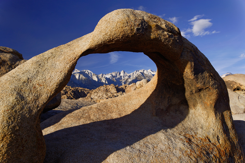 mobeus arch and mt. whitney