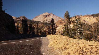 View of Lassen from Highway 89