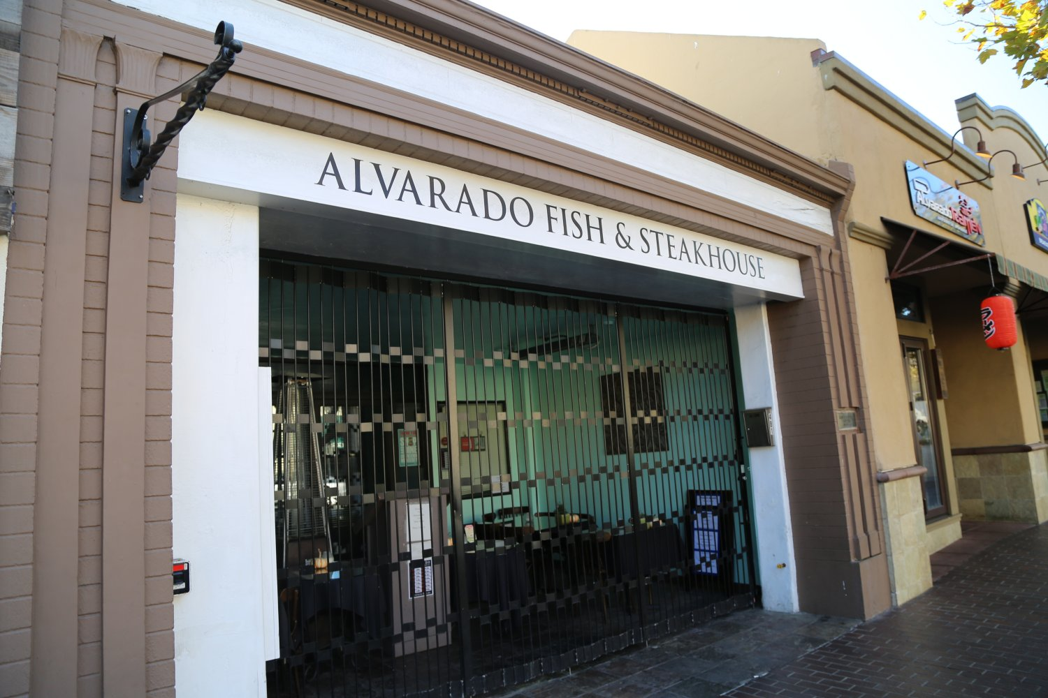 Alvarado Fish Steakhouse Is Located At 481 St In Downtown Monterey Small Restaurant Parking Available On Nearby Streets Or If Staying