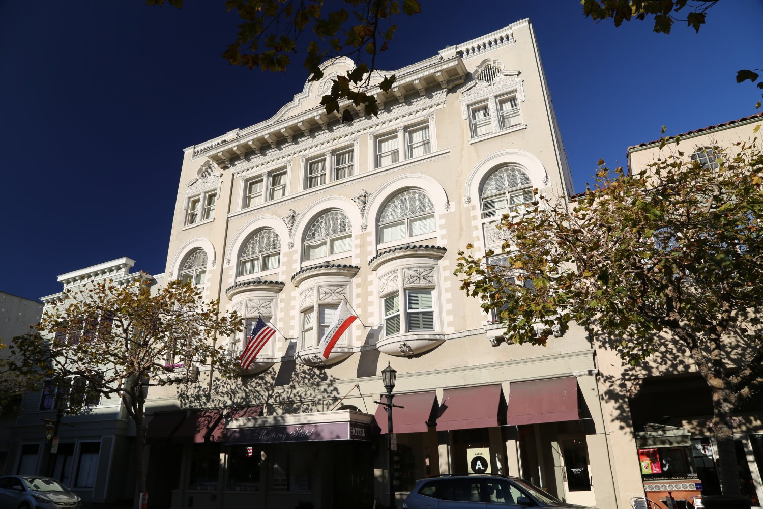 Monterey Hotel Is Conveniently Located At 406 Alvarado Street In The Heart Of Historical Downtown Great Location For An Easy And Short Walk To