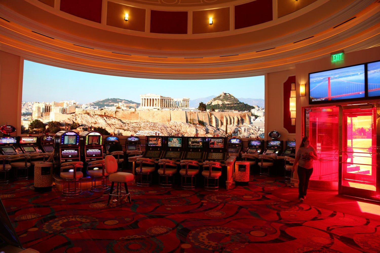 Вхід до казино Сіракузи де є перший правових Oracle казино