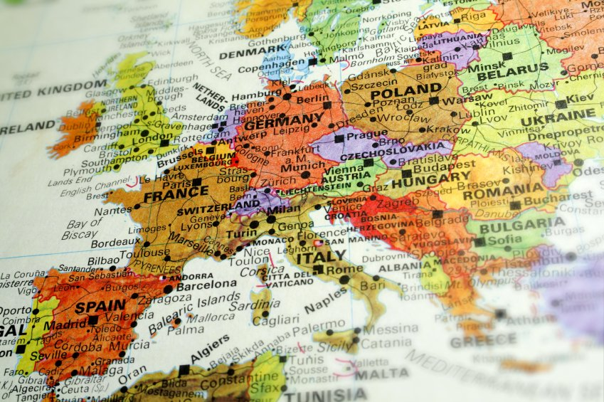 Guides Europe Introduction Daves Travel Corner – Travel Map Of Europe