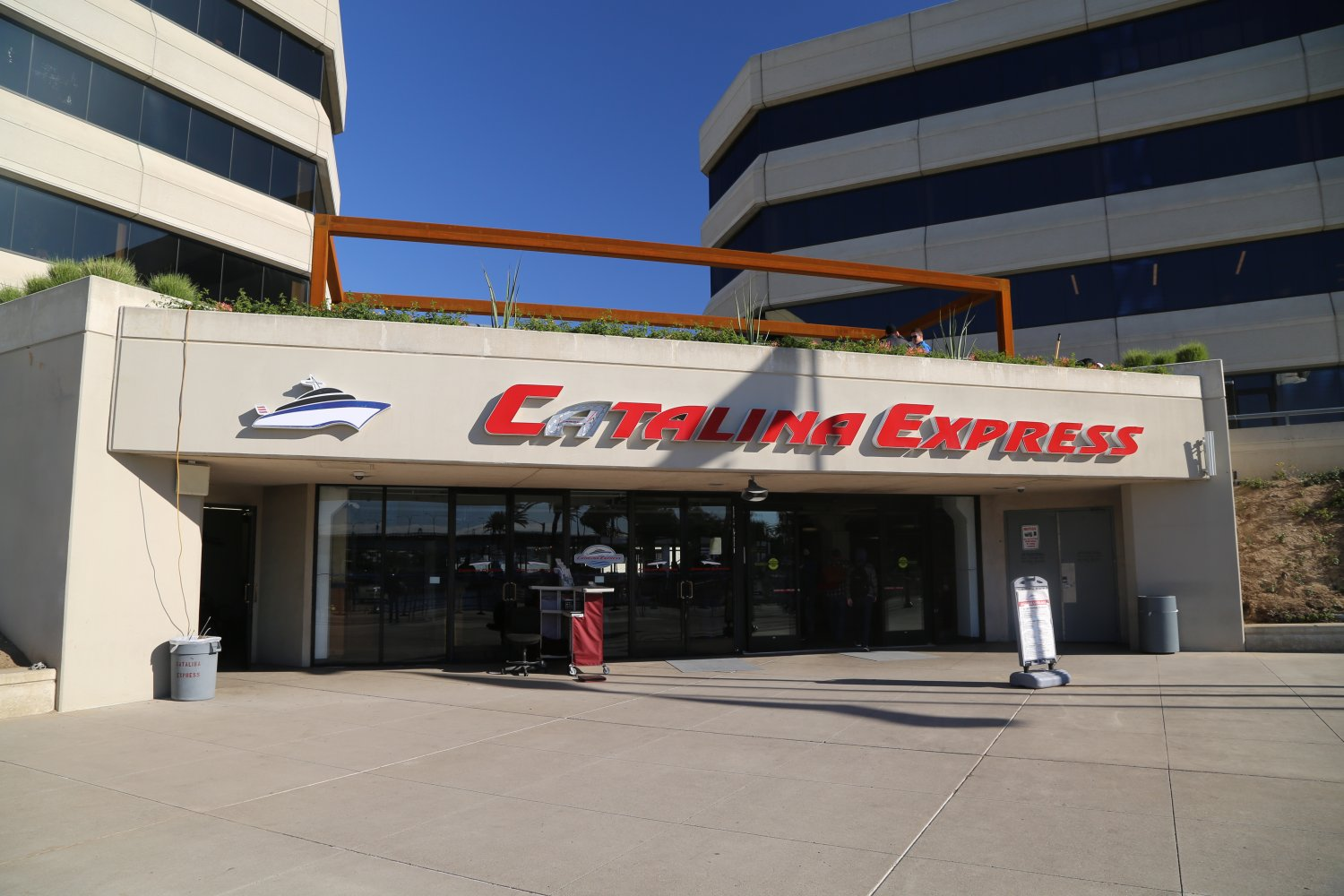 The Catalina Express travel company has been in business for around 30 years, running regular trips to Catalina Island, more than 30 a day, in fact.