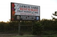 Fruit Yard Restaurant, Modesto CA – April 2002