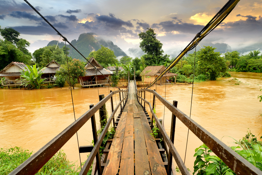 Image result for vang vieng city