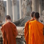 Monks - Angkor Wat - Cambodia